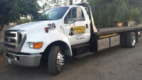 tow truck service in riverside, ca