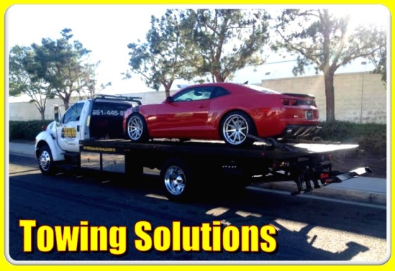 towing solutions truck