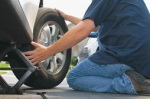 eastvale flat tire change