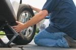 eastvale flat tire change