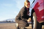 flat tire change service - mira loma