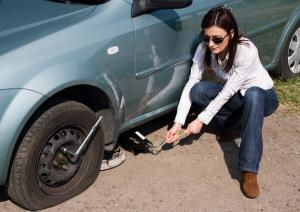 24 hour flat tire change - fontana
