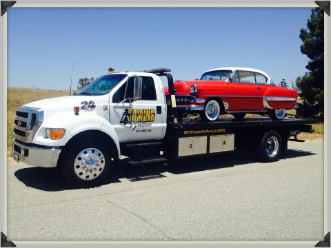 Corona, CA towing solutions
