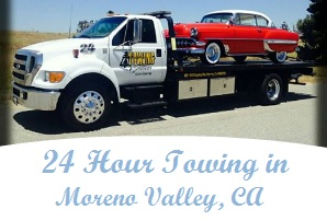 24 Hour Towing in Moreno Valley